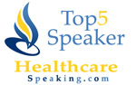 Top 5 Speakers in Healthcare Honoree